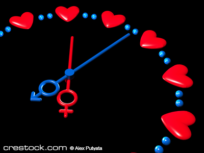 3D valentines watch